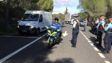 Photo of GARD Accident en cours : deux motards de la gendarmerie grièvement blessés