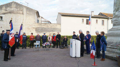 Photo of AIMARGUES Hommage au Colonel Beltrame