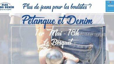 Photo of NÎMES Pétanque et Denim pour le 1er mai ?