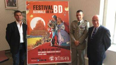 Photo of NÎMES Un festival de la BD au garde-à-vous