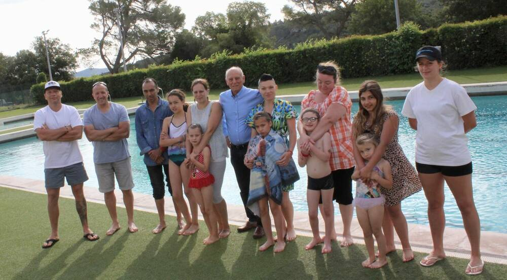 Natation archives objectif gard for Piscine municipale ales