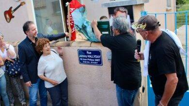 Photo of DIMANCHE VILLAGES Une rue Johnny-Hallyday à Laudun-l'Ardoise