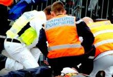Photo of GARD Accident : le camion benne se couche, le conducteur piégé dans l'habitacle