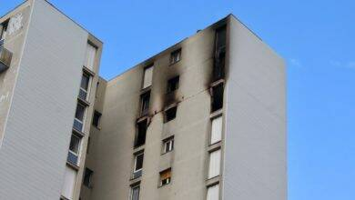 Photo of BAGNOLS Les travaux dans l'appartement incendié de la Tour G2 démarrent
