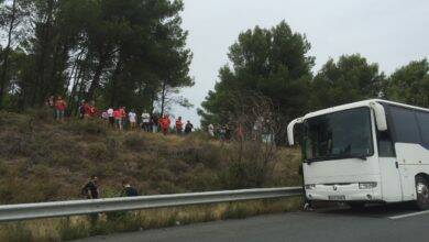 Photo of NÎMES OLYMPIQUE Un bus de supporters en panne sur l'autoroute