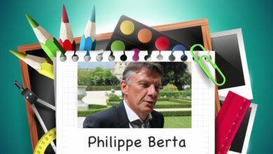 Photo of RENTRÉE Le bulletin de notes 2017-2018 de Philippe Berta