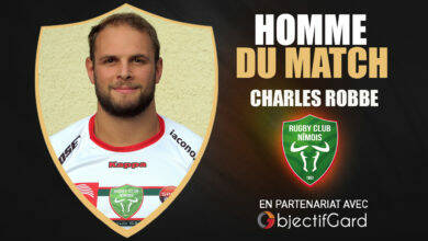 Photo of RCN L'homme du match : Charles Robbe