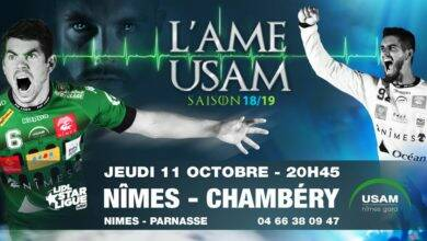 Photo of JEU CONCOURS USAM : gagnez vos places pour NÎMES-CHAMBERY ce jeudi !