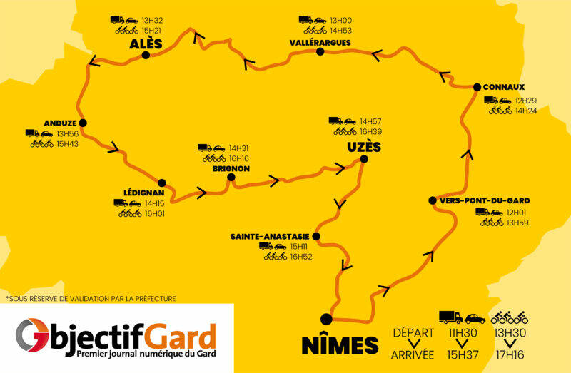 Carte Etapes Tour De France 2019
