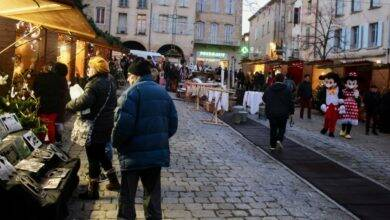Photo of BAGNOLS En images : le marché de Noël officiellement ouvert