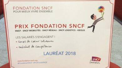 Photo of DISTINCTION L'association Collectif Animateur 30 remporte l'un des Prix de la Fondation SNCF 2018