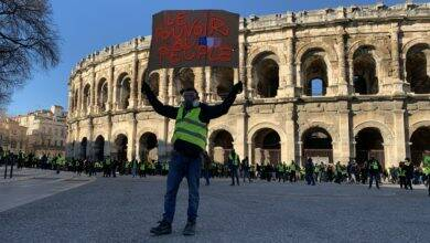 Photo of TOUT EN IMAGES Acte IX, les gilets jaunes à Nîmes
