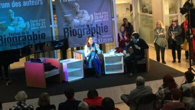 Photo of FESTIVAL DE LA BIOGRAPHIE Ségolène Royal face au public nîmois