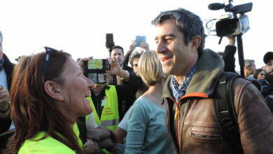 Photo of GILETS JAUNES François Ruffin en « guest star » à Sainte-Anastasie