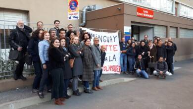 Photo of NÎMES Le lycée Hemingway poursuit la mobilisation ce mardi 2 avril 2019 contre la réforme Blanquer