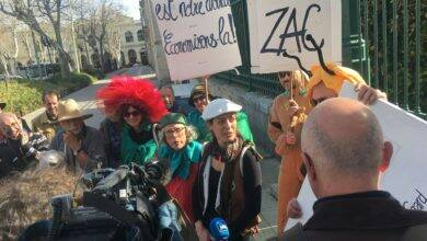 Photo of NÎMES Rassemblement contre la zone commerciale Les Sablas