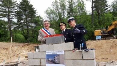 Photo of DIMANCHE VILLAGES Une nouvelle gendarmerie en construction à Génolhac