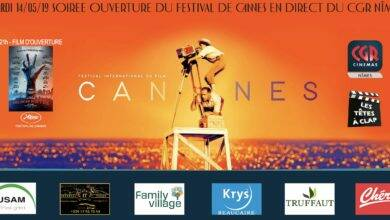 Photo of NÎMES Vivez le Festival de Cannes en direct du CGR ce mardi