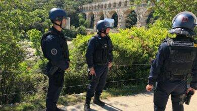 Photo of PONT DU GARD Face à face tendu entre gendarmes et gens du voyage