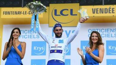 Photo of FAIT DU JOUR Elsa Boirie, star des podiums… du Tour de France