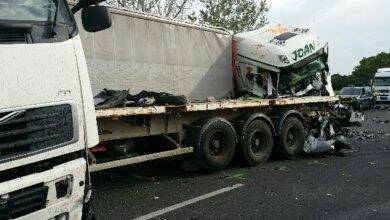 Photo of IMAGES Terrible accident mortel en cours sur l'autoroute ce jeudi soir