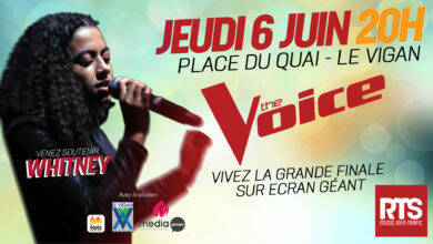 Photo of LE VIGAN La radio RTS vous offre la retransmission sur écran géant de la finale de « The Voice »