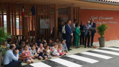 Photo of SAINT-ANDRÉ D'OLÉRARGUES Retour sur l'inauguration de l'école communale