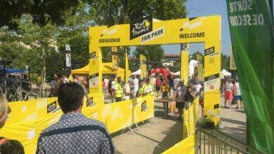 Photo of NÎMES Animations à gogo au Fan Park du Tour de France