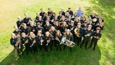 Photo of SAINT-GILLES Hampshire County Youth Band au château d'Espeyran