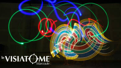 Photo of MARCOULE Révélez vos talents d'artiste grâce au light painting au Visiatome !