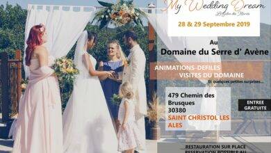 Photo of À VOS AGENDAS « My Wedding Dream » au domaine du Serre d'Avène