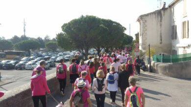 Photo of ARAMON La commune se met en rose contre le cancer du sein