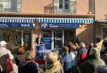 Photo of GRAU-DU-ROI Charly Crespe a inauguré son local de campagne