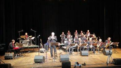 Photo of FOURQUES Bruce Adams et le Hitchen Big Band ont étaient acclamés