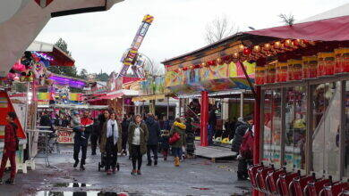 Photo of ALÈS La fête foraine a pris ses quartiers
