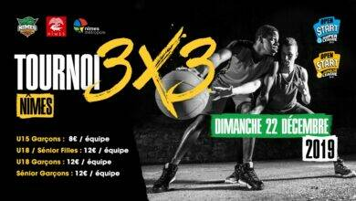 Photo of À VOS AGENDAS Nîmes Basket organise le « Tournoi 3×3 » de Noël