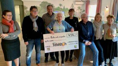 Photo of VILLENEUVE L'EHPAD Maison Bleue participe au Téléthon