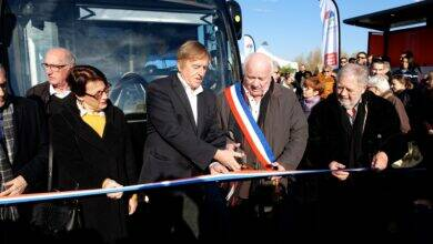 Photo of EN VIDÉO Caissargues : Tram'bus T1 : Cap au sud