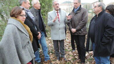 Photo of GARD Denis Bouad sur le terrain alésien