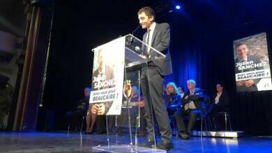 Photo of BEAUCAIRE Julien Sanchez candidat, la CCBTA en ligne de mire