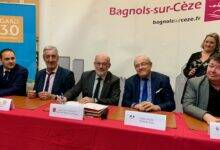 Photo of BAGNOLS/CÈZE La déclaration d'engagement de la rénovation urbaine officiellement signée