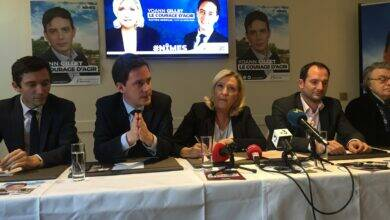 Photo of MUNICIPALES À Nîmes, Marine Le Pen en renfort du candidat Gillet