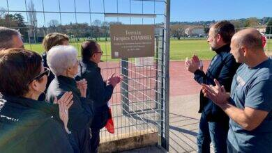 Photo of VILLENEUVE-LÈS-AVIGNON L'hommage à l'ancien président du club de football, Jacques Chabriel